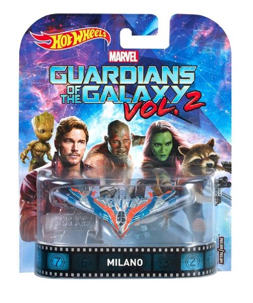 Hot Wheels Retro Entertainment Series 2017 Guardians Of The Galaxy Milano